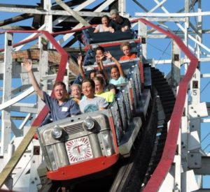 Applications2U customers enjoying a faster-user experience at Kennywood!